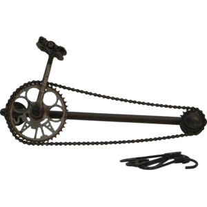 Knage af gammel cykelkæde