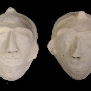 Papmache maske