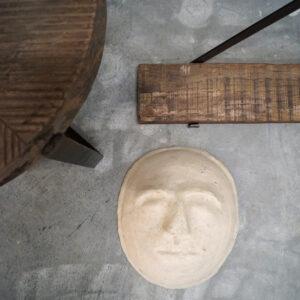 Papmache maske – large