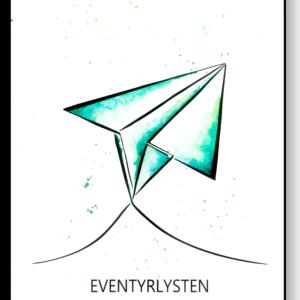 Eventyrlysten i farve – AEArt plakat