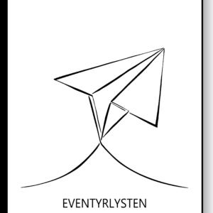 Eventyrlysten – AEArt plakat