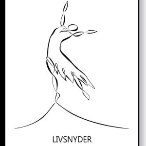Livsnyder – AEArt plakat