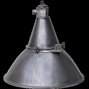Gammel og rå industrilampe