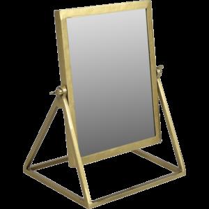Bordspejl – messing