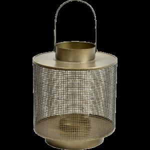 Lanterne med glasindsats – large