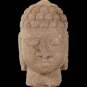 Buddha hoved i sten