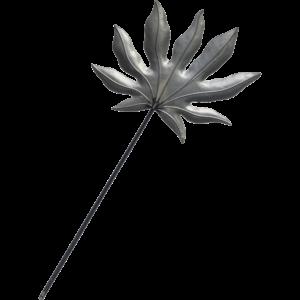 Araliablad i metal
