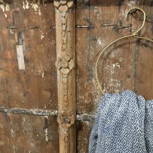 Rund bøjle – antikmessing