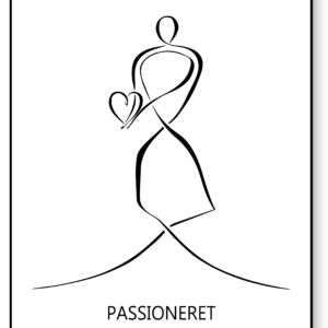 Passioneret – AEArt plakat