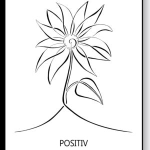 Positiv – AEArt plakat