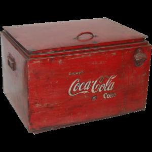 Coca Cola box – gammel vintage