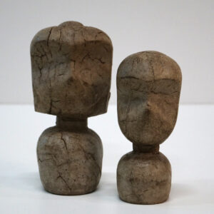 Skøn enkel stenfigur – large